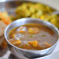 Paneer and small onion in southindian tamarind based gravy - Side dish for rotis and rice