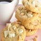 White Chocolate-Almond Cookies