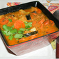Vegetable Curry Soup with Zucchini and Sweet Potatoes