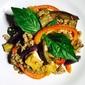 Basil Pork With Eggplant And Tofu