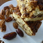 DATE and PECAN - PORT coffee cake