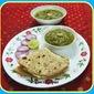Palak Mushroom / Spinach mushroom curry
