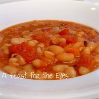 Navy Bean and Bacon Soup (adapted for a pressure cooker)