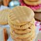 Maple Cinnamon Glazed Peanut Butter Cookies