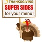 Thanksgiving Menu Ideas!