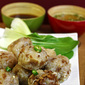 Niouk Yen (vegan/vegetarian version): Chayote/Daikon Radish Dumplings (Boulette Chouchou)