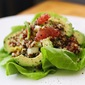 Citrusy Quinoa Salad with Avocado, Cucumber, and Almonds