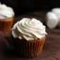 Sweet Potato Cupcakes with Brown Sugar Marshmallow Frosting
