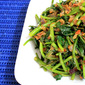 Stir-Fried Sweet Potato Leaves In Chilli