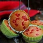 Glace Cherry Muffins | Christmas Recipes | Glaze Cherry Cupcakes | Christmas Recipes