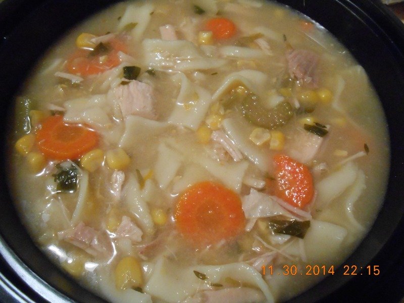 how to cook turkey noodle soup