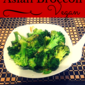 Asian Broccoli