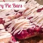 Cherry Pie Bars- lucky leaf pie filling