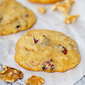 Cranberry Orange Nut Cookies Cookie Exchange and Cookies for Santa's Milk Drive