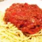 Vegetarian TVP Spaghetti Sauce