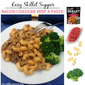 Easy Skillet Supper with Campbell's® Dinner Sauces