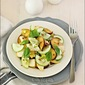 Plum, Pear & Cucumber Salad With Lime-Honey Dressing and Pistachios