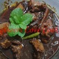 AYAM MASAK KICAP-KERISEK / CHICKEN IN ROASTED COCONUT-SOY SAUCE