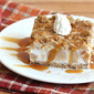 Frozen Caramel Apple Crunch Cake