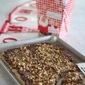 Christmas Shortbread Toffee Cookies