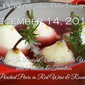 December 14th LIVE! from ITALY Online Cooking Class: Cooking with Wine
