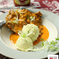 Spicy Chicken Chop With Mashed Potatoes