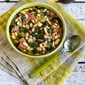 Slow Cooker Bean Soup with Ham, Spinach, and Thyme (and Ten More Bean Soups with Greens)