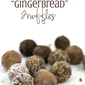 Recipe Connection: Chocolate Gingerbread Truffles (dairy-free, gluten-free)