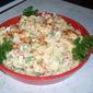 Family Favorite Macaroni Salad, a festive foods rewind