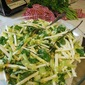 Root and Stem Salad, a festive foods rewind