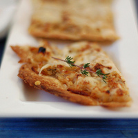 Caramelized Onion & Apple Slab Tart