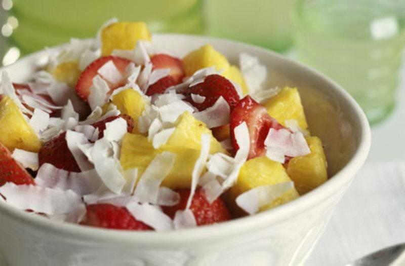 fruit salads is a coconut a fruit