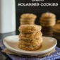 Chewy Molasses Cookies & Giveaway #ChristmasWeek