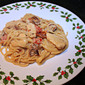 Chicken Spaghetti in a Creamy Parmesan and Sundried Tomato Sauce