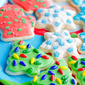 Soft Christmas Cut-Out Sugar Cookies with Easy Icing