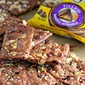 Salted Caramel Brownie Brittle with Nestle Toll House DelightFulls