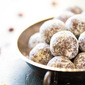 Cranberry Orange Energy Date Balls