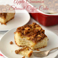 Apple Cinnamon Streusel Coffee Cake