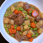 Crockpot Garlic Rosemary Beef Stew