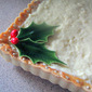 Eggnog Custard Tart with Sweet Almond Crust