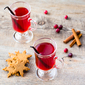 Hot Drinks for the Holidays — Part III — Hot Cranberry Vanilla Drink (Vegan)