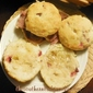SOUR CREAM CRANBERRY BISCUITS