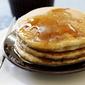 Eggless Vanilla Pancake
