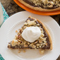 Hazelnut Shortbread Pizza