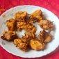 Crispy onion pakodas/pakoras or kanda bhaji or onion fritters recipe