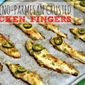 Jalapeno-Parmesan Crusted Chicken Fingers