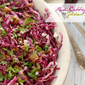 Red Cabbage and Golden Raisin Salad #SundaySupper