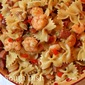Cajun Shrimp and Pasta Skillet