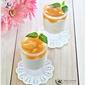 Orange/Peach (No-bake) Cheesecake in Glass plus Giveaway