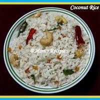 Coconut Rice | Kobbari Annam